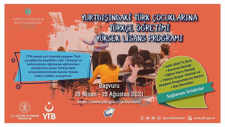 YTB'den yurt dışındaki vatandaşlar için burs programı