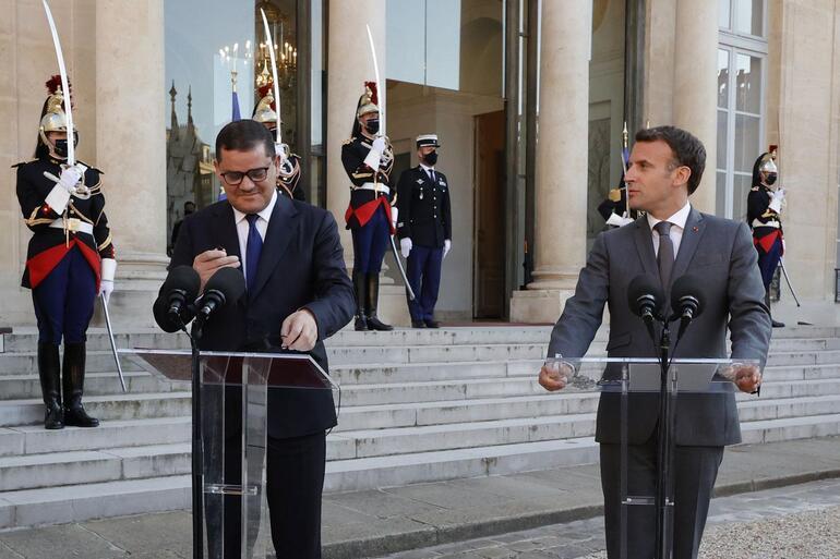 Macron yine Türkiyeyi hedef aldı