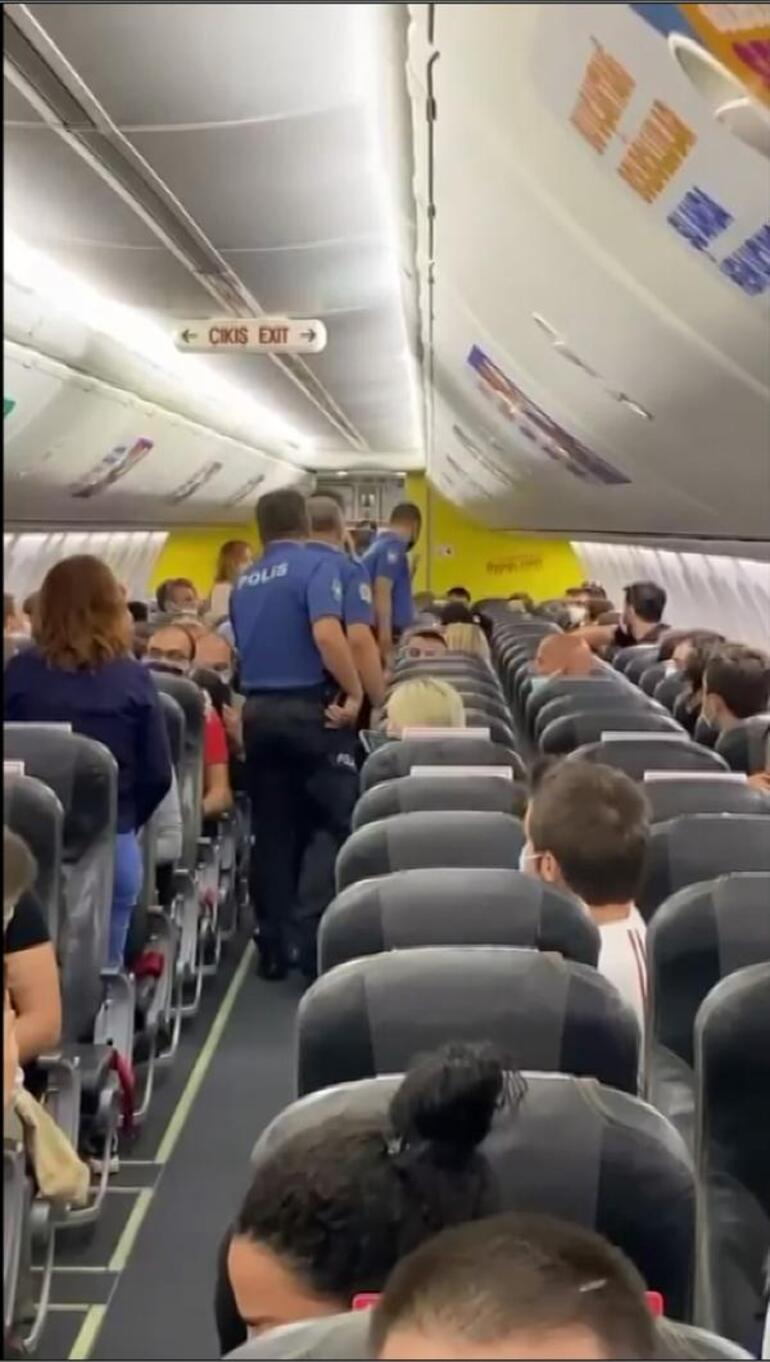 Son dakika haberi: Antalya-İstanbul uçağını karıştıran taciz iddiası