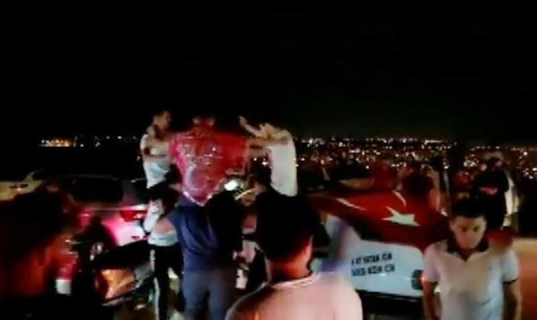 Antalyada tepki çeken görüntü