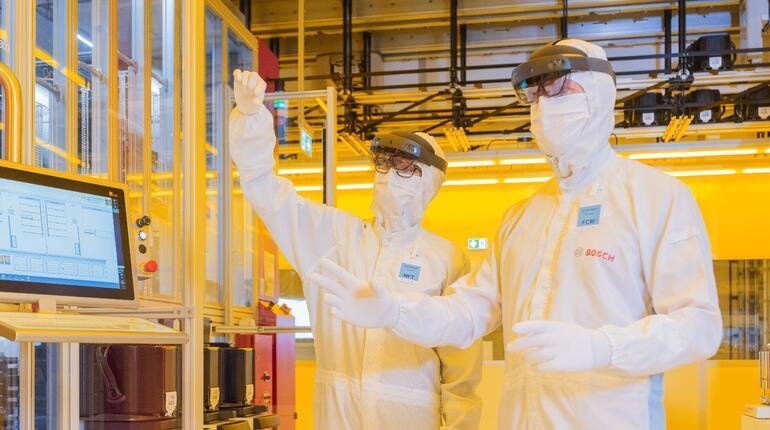 Bosch, Dresden'de geleceğin yonga plakası fabrikasını açtı