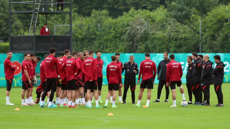 A Milli Futbol Takımı, Almanyada tam kadro çalıştı