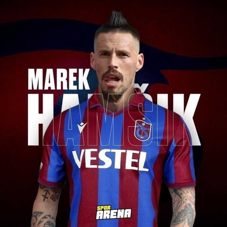 Son Dakika Transfer Haberi: Trabzonspor, Marek Hamsiki resmen duyurdu