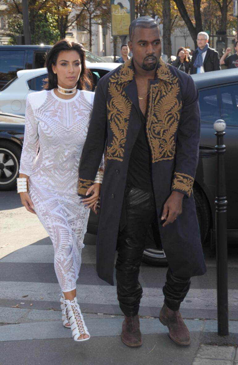 Kanye West ile Irina Shayk aşk yaşıyor: Yakalandılar