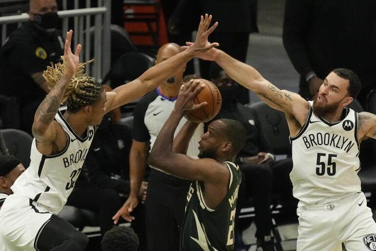 NBAde Gecenin Sonuçları: Netsi yenen Bucks seride durumu 2-1 yaptı