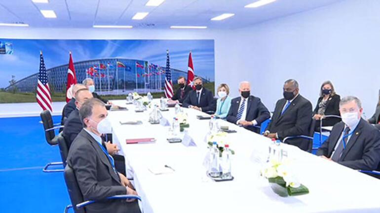 Son dakika... Cumhurbaşkanı Erdoğandan Biden görüşmesi sonrası ilk açıklama Yararlı ve samimi bir görüşme oldu