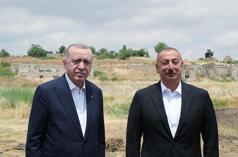 Son dakika... Cumhurbaşkanı Erdoğandan Şuşaya tarihi ziyaret