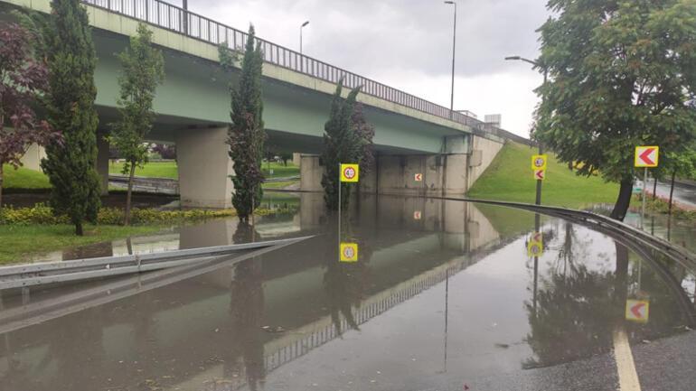 Son dakika: İstanbulda yoğun sağanak Her yer göle döndü... Prof. Dr. Şenden sıradışı meteorolojik olay uyarısı