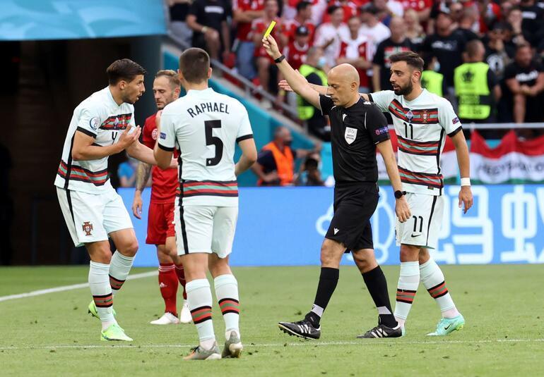Son Dakika: EURO 2020de heyecan dolu mücadele.. Cüneyt Çakır & Cristiano Ronaldo damgası Ronaldo çıldırdı, Cüneyt Çakır oralı olmadı...