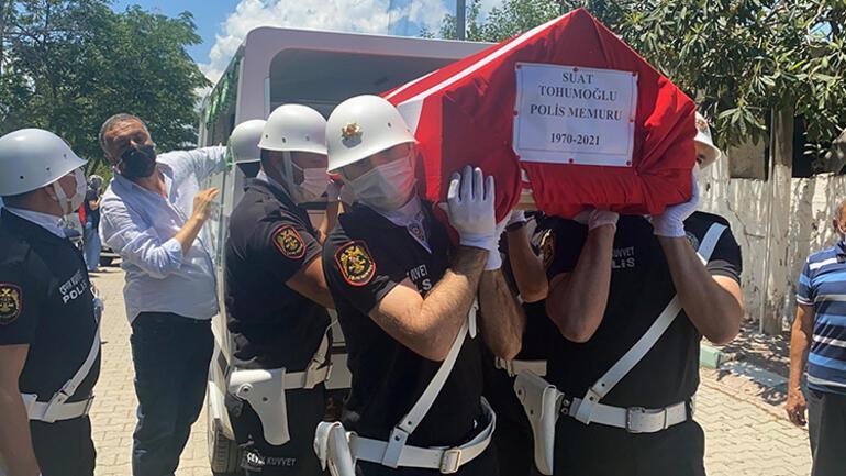 Hatayda trafik kazasında hayatını kaybeden polis memuruna acı veda