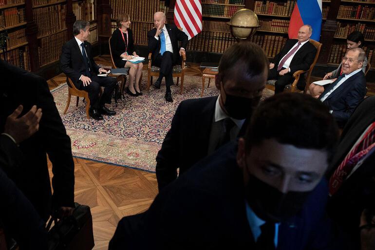 Son dakika haberi: ABD Başkanı Biden ve Rusya lideri Putin arasındaki tarihi zirve sona erdi Açıklamalar peş peşe geldi