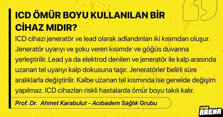 Son Dakika: Christian Eriksene ICD takılacak ICD nedir Kariyerini nasıl etkileyecek Prof. Dr. Ahmet Karabulut Spor Arenaya anlattı...