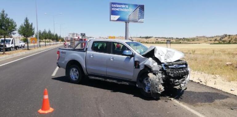 Öğretmenleri taşıyan servis kaza yaptı: 10 yaralı
