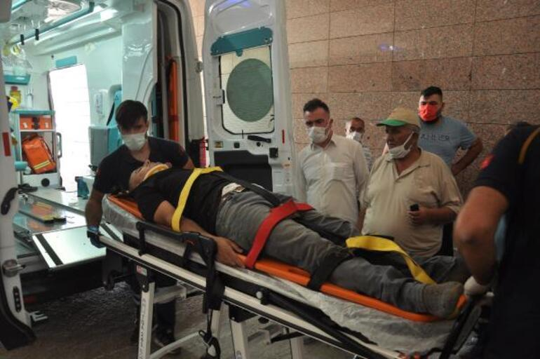 Gaziantepte korkunç kaza Kınaya giderken kaza geçirdiler: 10 yaralı