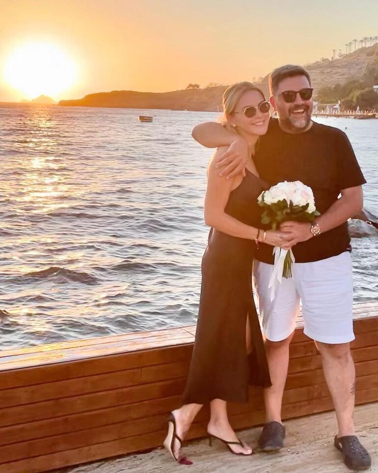Ece Erken ve avukat sevgilisi Şafak Mahmutyazıcıoğlu evlendi