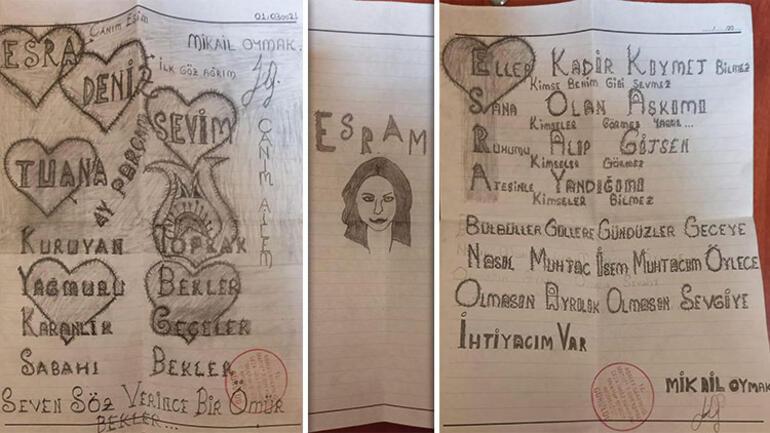 Hayatını kararttığı eşine utanmadan cezaevinden aşk mektubu yolladı