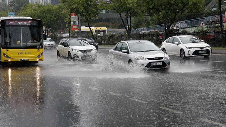 Son dakika: İstanbul için yağış uyarısı: Son yıllarda nadir olarak görülen cinsten