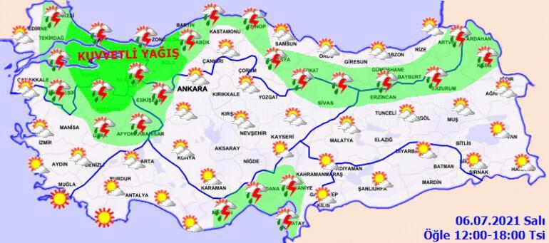 Son dakika... İstanbul için alarm Süper hücre geliyor