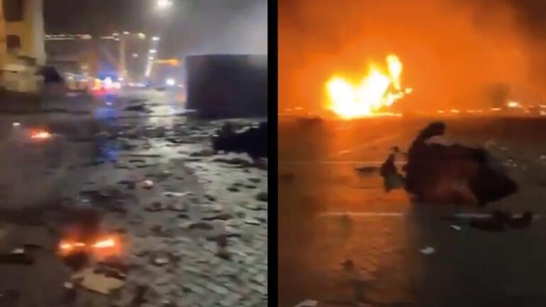 Son dakika haberi: Dubaide büyük patlama Görüntüler dehşet verici