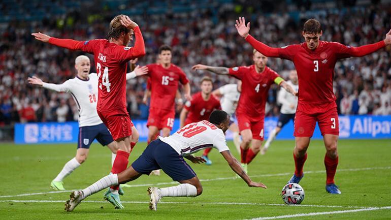 Son Dakika Haberi... EURO 2020de İngiltere-Danimarka maçında tartışılan penaltı kararı Wengerden flaş yorum