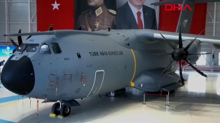 Son dakika haberi... Dev nakliye uçaklarına yeni tesis Erdoğan: Rekor bir sürede tamamladık
