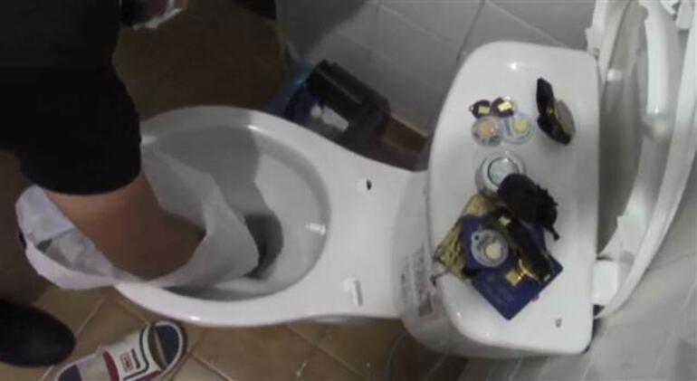 İstanbulda dev operasyon Çete çökertildi... Tuvaletten çıkanlar pes dedirtti