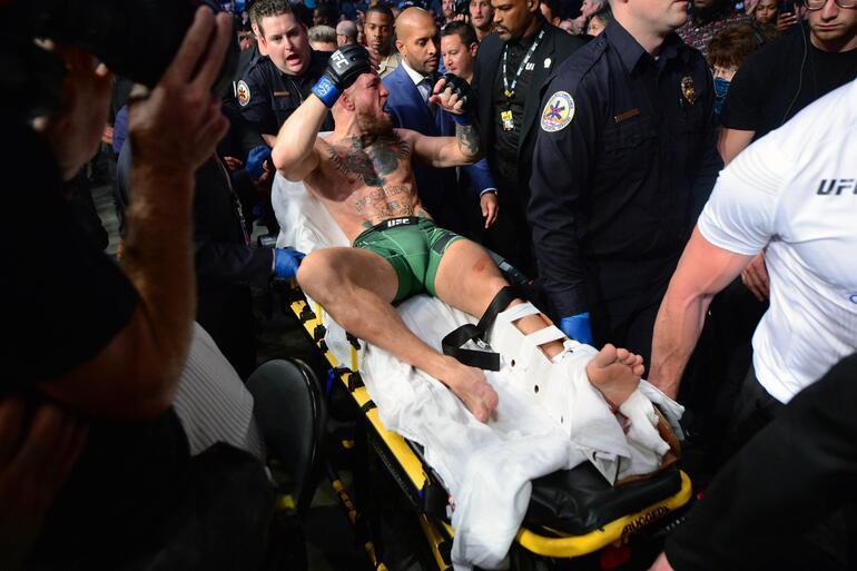 Son dakika: UFCde Conor McGregorun ayağı kırıldı, Dustin Pourier maçı kazandı