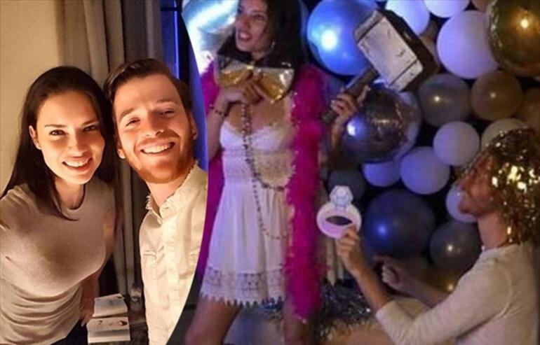 Oyuncu Hilal Altınbilek ve Metin Hara aşk yaşıyor Adriana Lima detayı...