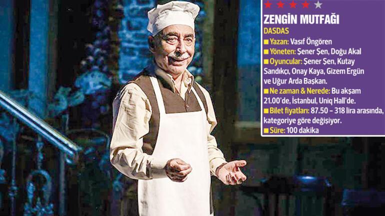 Şener Şen'in 'mutfağında' tarihi bir yolculuk