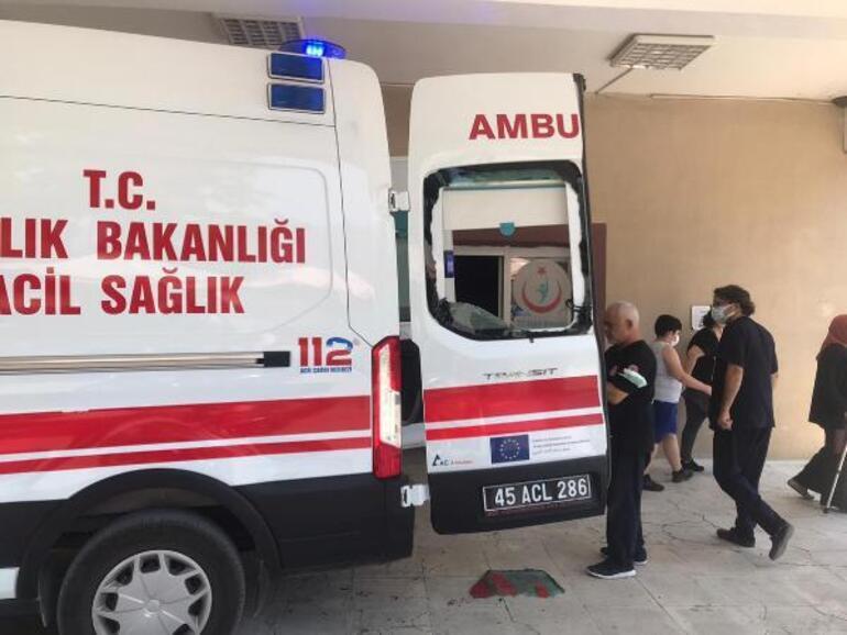 Gelinini öldürüp intihar etti Ambulansa saldırıp sağlık çalışanını dövdüler