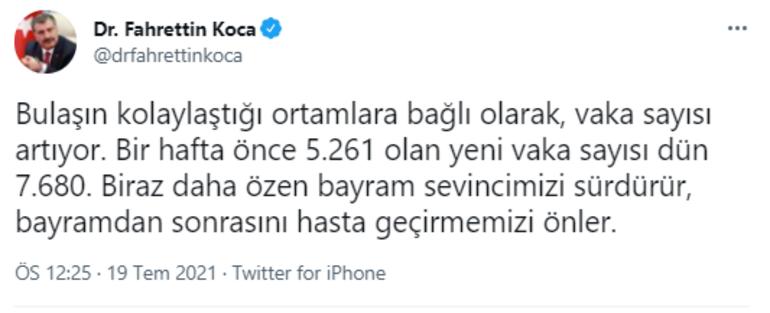 Son dakika: Sağlık Bakanı Fahrettin Koca'dan koronavirüs açıklaması: 'Vaka  sayısı artıyor' deyip uyardı - Son Dakika Flaş Haberler