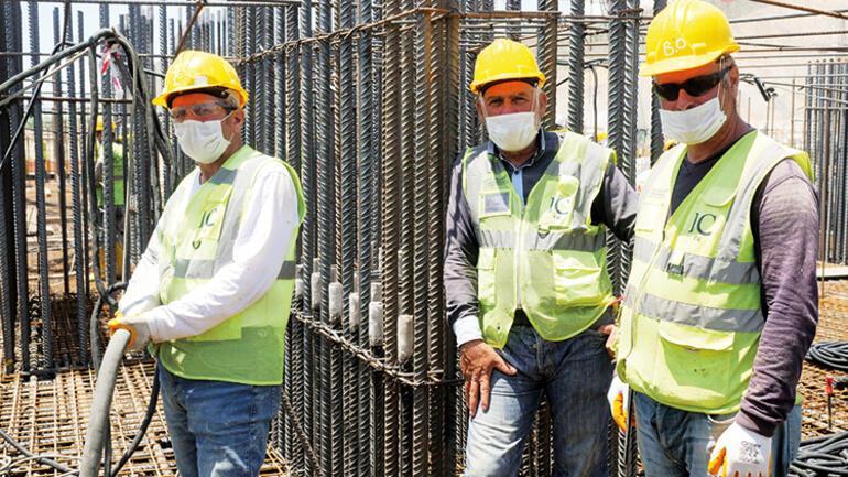 2023'te devreye alınacak Akkuyu NGS'nin inşaat sahasını DHA görüntüledi: 11 bin işçi 4 saat mesai