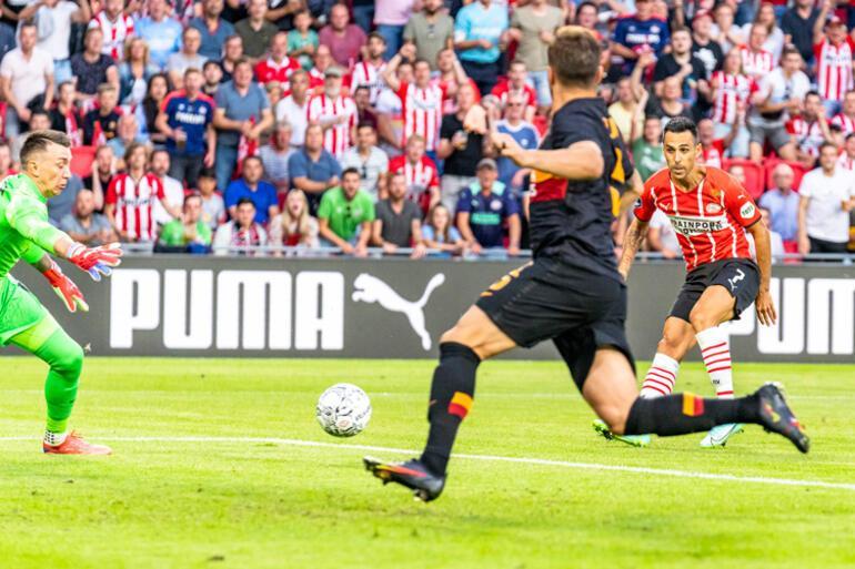 Son Dakika: PSV - Galatasaray maçında Fernando Musleradan 2 büyük hata