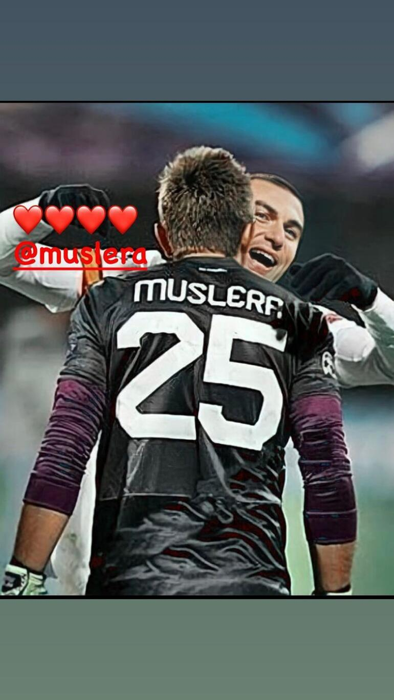 Last minute: Burak's support for Muslera after PSV's game - Glatsray