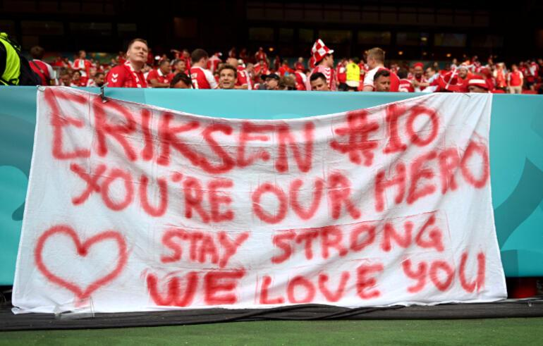 Son Dakika: EURO 2020de tüm dünyayı korkutmuştu... Resmi açıklama geldi, Eriksen için karar verildi