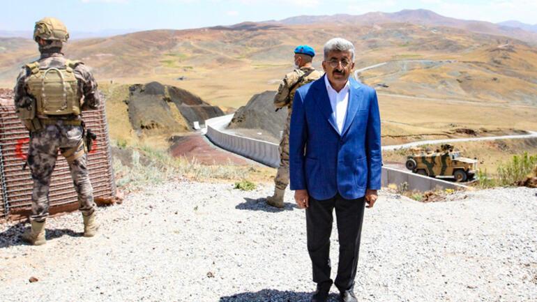 Son dakika... Türkiye-İran sınırında harekete geçildi Tam 295 kilometre: Duvar örülüyor