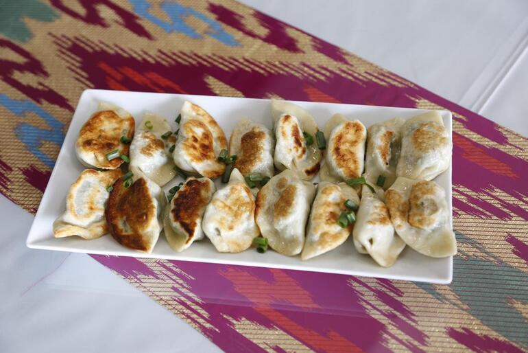 Doğu Türkistan tatları Ankara'da