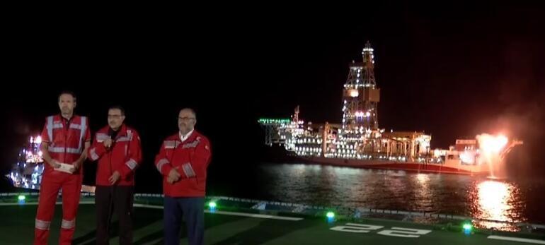 Son dakika haberi... Karadenizde bulunan doğal gaz yakıldı Cumhurbaşkanı Erdoğandan önemli açıklamalar