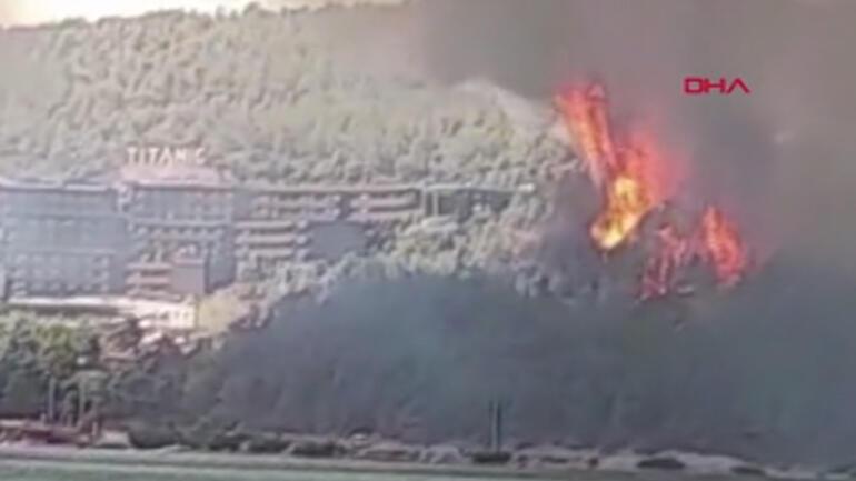 Son dakika... Yangın kâbusu giderek büyüyor... Muğlanın Bodrum ilçesinde yangın Ekipler bölgeye sevk edildi