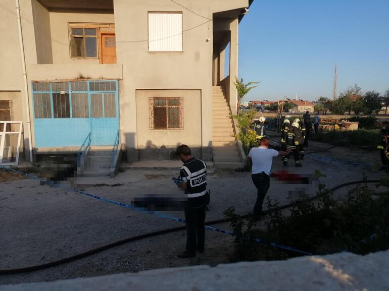 Son dakika haberi Konyada katliam Evi basıp 7 kişiyi öldürdüler... Bakan Soyludan ilk açıklama