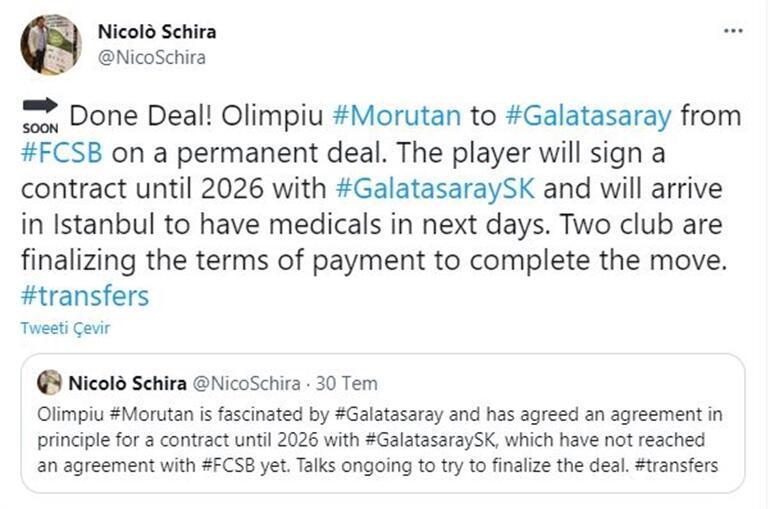 Son dakika transfer haberi: Galatasarayın istediği Morutan transferi için üst üste flaş açıklamalar Becali ve Burak Elmas...