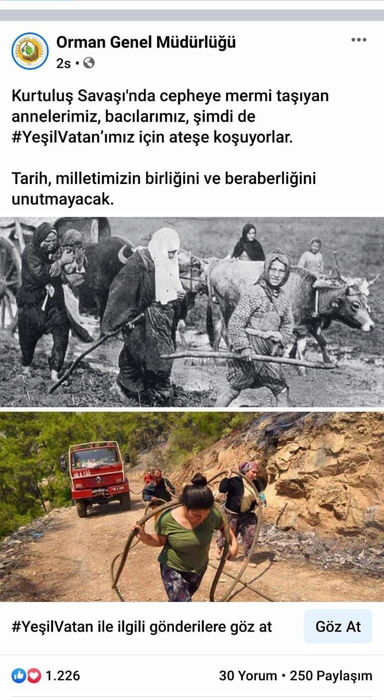 Türkiye bu fotoğrafı konuşuyor Zaman değişir, Nene Hatunlar değişmez