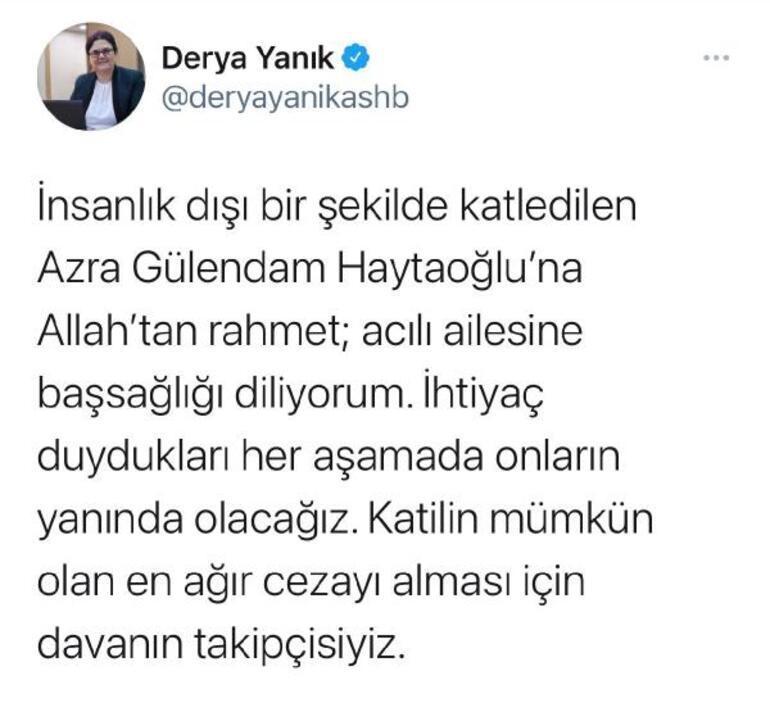 Son dakika... Antalyada üniversiteli Azra Gülendam Haytaoğlu kayıptı Tecavüze uğrayıp vahşice öldürülmüş