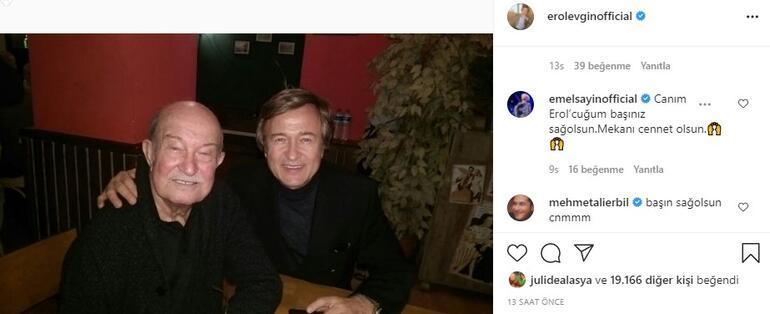 Erol Evginin abisi Atilla Evgin hayatını kaybetti