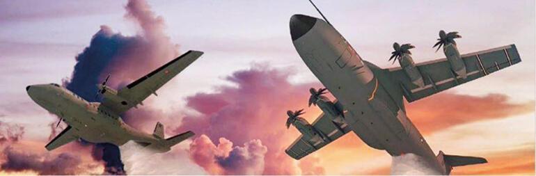 Podemos transformar aviones militares