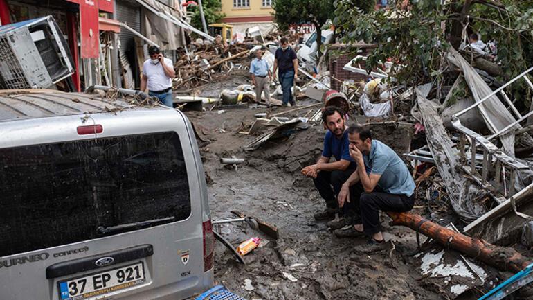 Son dakika haber... Sel felaketinde son durum... Her şey 5 dakikada oldu İşte Kastamonu Bozkurt, Bartın ve Sinoptaki yeni gelişmeler...
