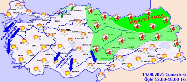 Son dakika: Meteorolojiden yeni hava durumu uyarısı Kuvvetli olacak: Sarı ve turuncu alarm