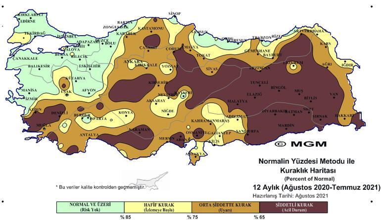 Son dakika: Meteorolojiden korkutan harita: Olağanüstü kodu ile uyarıldı
