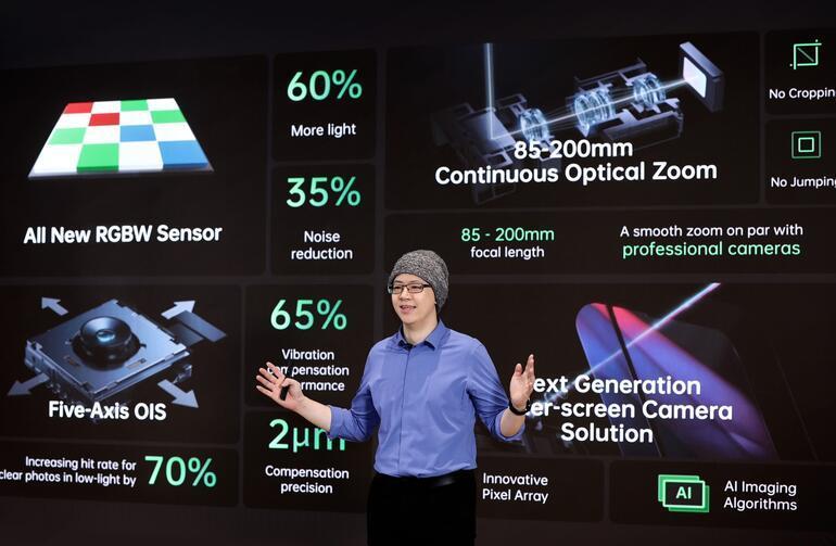 Oppo announces new technologies developed for phones