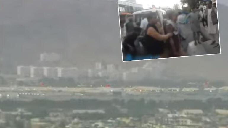 Son dakika... Kabil Havalimanı bölgesinde patlamalar Ölü sayısı 60a yükseldi... Aralarında Amerikan askerleri de var